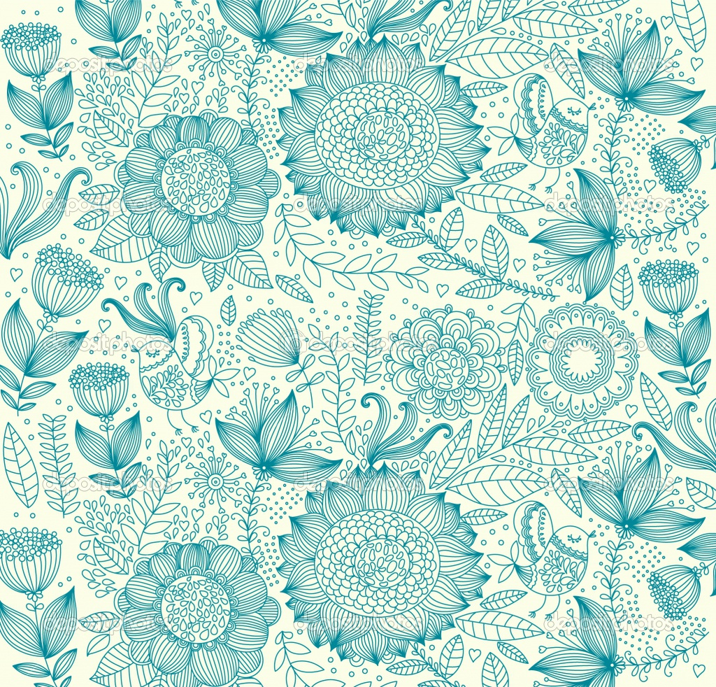 depositphotos_5326399-beautiful-floral-background | silver girl