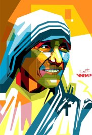 mother_teresa_in_wpap_by_ihsanulhakim-d7xn75q